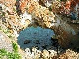 Арка на мысе Цаган-Хушун, оз.Байкал, Малое Море, фото Юрия Гукова