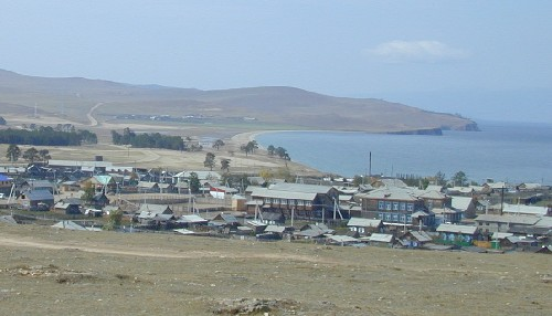Поселок Хужир